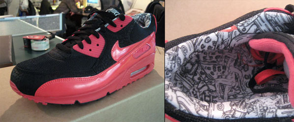 "pretty nice 2a5f5 1b126 Nike ID at 255 Elizabeth in NY just came out with these new stunning ""255""  Air Max 90 s. They were designed by the good folks at the Nike ID studio  and are ..."