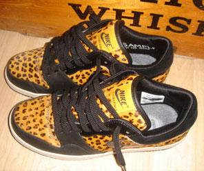 Nike Leopard Print Court Force Low
