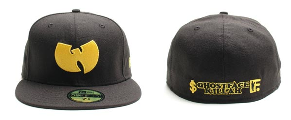ec9784cabf9 Here pictured above is the latest collaboration New Era Fitted by Ghost  Face Killah X Swagger X Frank 151 which features the Wu Tang logo on the  front and ...