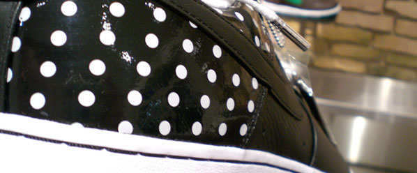 You ve probably seen other versions of the Nike AF1 Black Polka Dots  sneakers 9c9c865d45