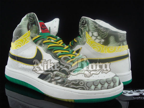 Nike Court Force High 3D Brasil Colorway Sample