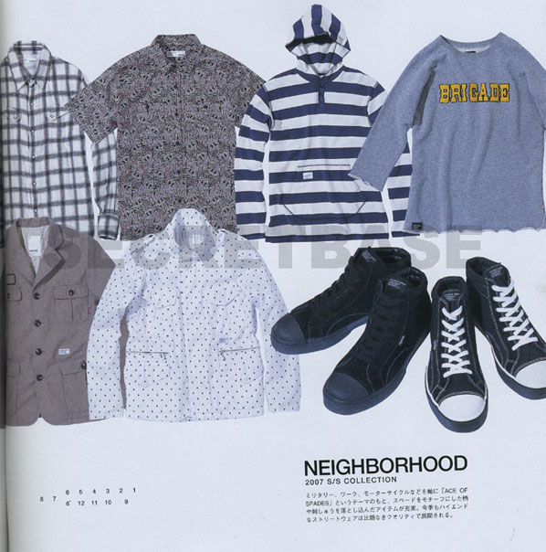 Neighborhood Ace of Spades S/S 2007 in Cool Trans