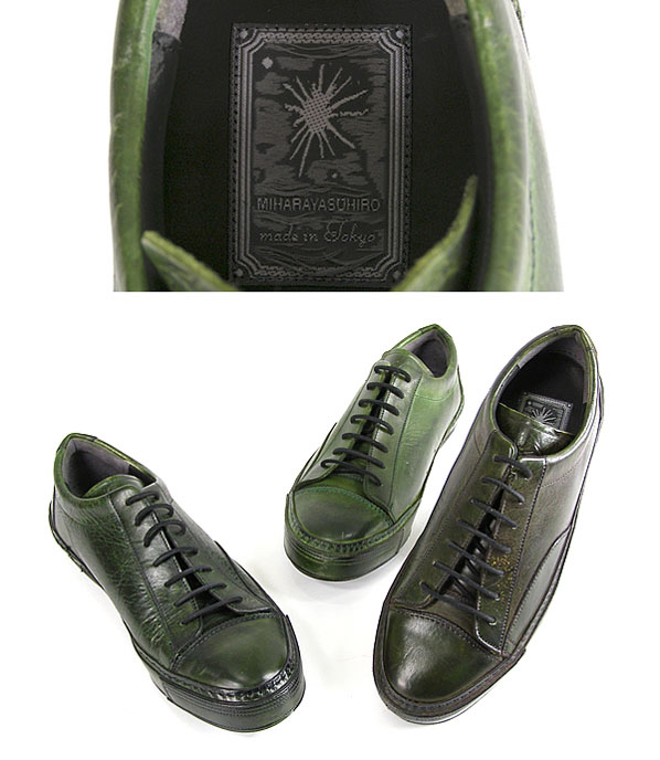 Mihara Yasuhiro x Landscape Products All-Leather Sneaker