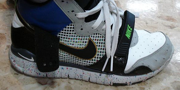best authentic a3a15 23c6f Here s a peek at what is allegedly an upcoming Mita Sneakers designed Nike  Trainer Dunk High. There are a million things going on with this sneaker  and ...