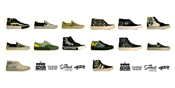 f42d4d83c492 The Simpsons x Vans pack which consist of 14 different shoes will be  releasing at Bodega on Saturday