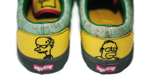 Today we have another look at some shoes from the upcoming Vans and Simpsons  project f4d59ccabfb
