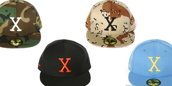 XLarge Japan is set to release a series of New Era X caps next month. Five  different colors are available which include Desert Camo 3e1bae57978