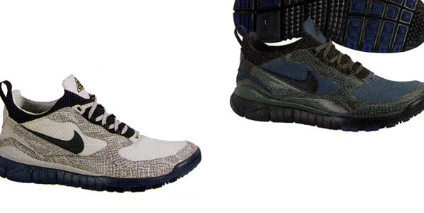 hot sale online 9ce60 cb82e The white leather shoe  These latest offerings from Nike marks a three way  hybrid affair combining the Nike ACG Wildwood  Nike Wildwood 90 Free Trail  ...