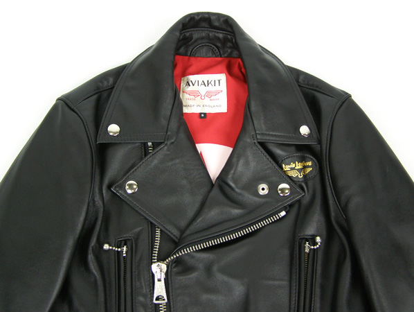 joe strummer x lewis leathers x hysteric glamour lightning jacket