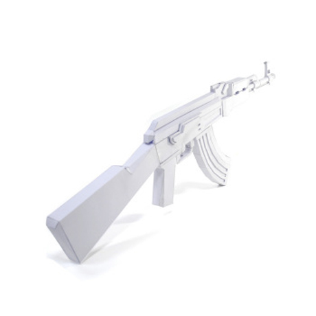 paper ak 47 Papercraft 1:1 assault rifle ak-47 by martin postler the ak-47, also called the kalashnikov after its inventor, is one of the most successful industrial products of.