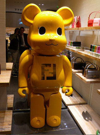 fendi 100000000000 bearbrick