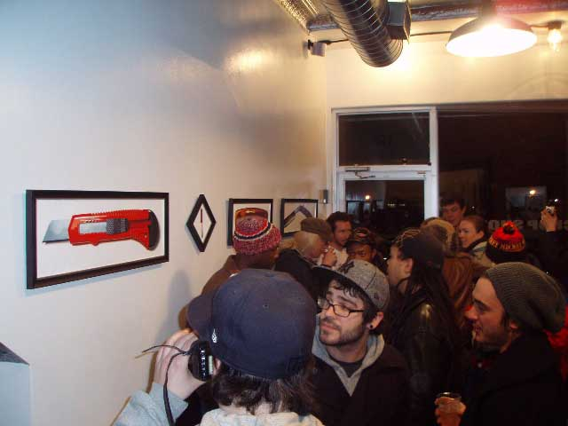frank151 chop shop x shut skateboards x steve ellis exhibition