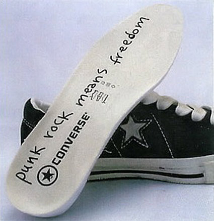 Low seen here and a Chuck Taylor All Star High Designs are based off