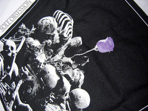sole obsession x lazy x new balance purple rose 576 20th anniversary tee