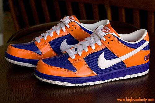 best service f340f 2aa59 Nike pays homage to Syracuse University with what we assume is a special  NikeID version released exclusively to select members on campus.