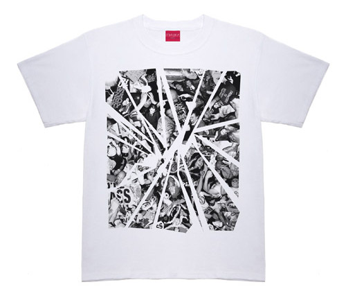 the cut x sick it all x mishka new york heavy bass 3 year anniversary t shirt