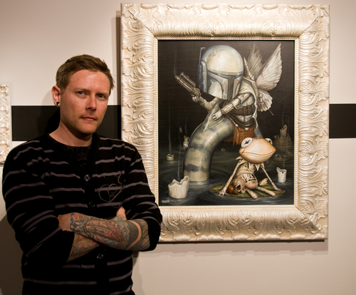 the well exhibition greg craola simkins
