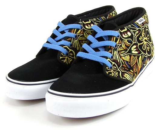 192f03847f54 Straight from the Vans Vault is an all new Jungle embroidery series of  Chukka 49s and Authentic LXs. Thick floral embroidery dominate the upper of  both the ...