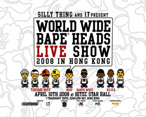 95b513bfb World Wide Bape Heads Show in Hong Kong Commercial