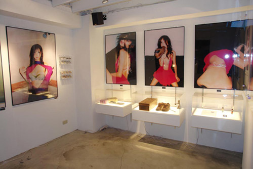 ... model Aki Hoshino have followed up on their photographic print endeavor  Sneaker Lover with a gallery showing at Taiwan s SOL. The exhibit includes  large ... bcffd7997