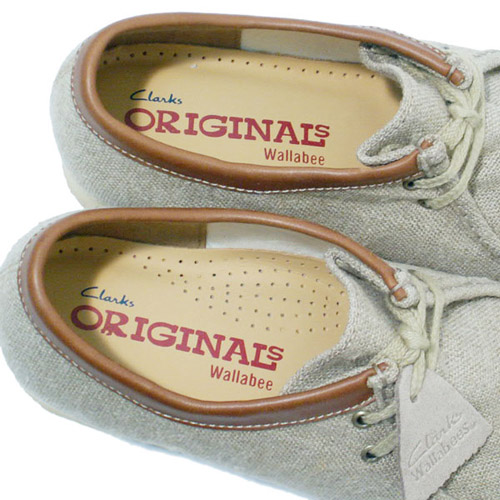 Clarks Natural Canvas Pack