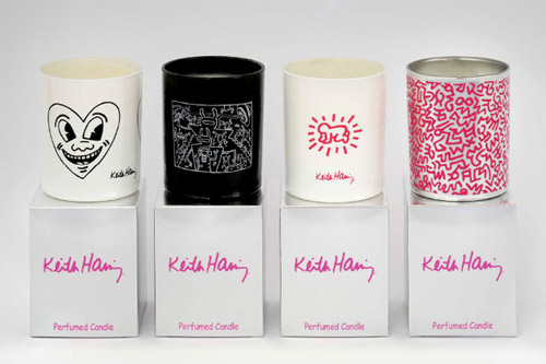 nuit blanche keith haring candles