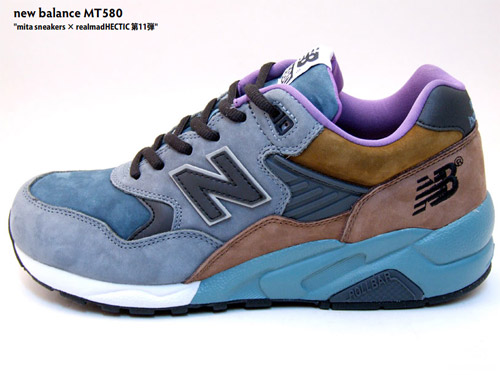 on sale aa0c0 f7762 Mita Sneakers × realmad HECTIC x New Balance MT580