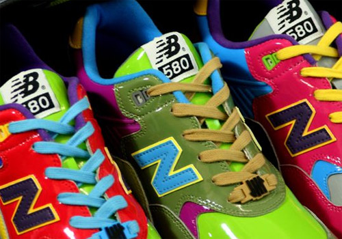 """bf52c1ec14 This Saturday will be the release of the Stussy x Hectic x UNDFTD x New  Balance """"Triple Threat"""" MT580 Synthetic Pack. Three colorful MT580 s will  be ..."""