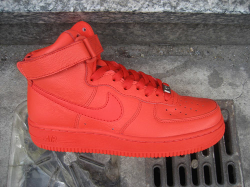 nike air force di alto colore le donne hypebeast