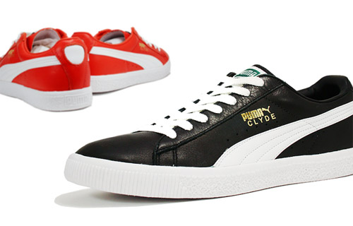 clyde puma leather
