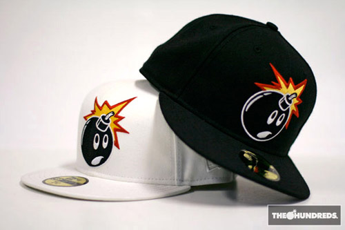 "The Hundreds New Era ""Adam Bomb"" FIFTY59 Fitted Cap"