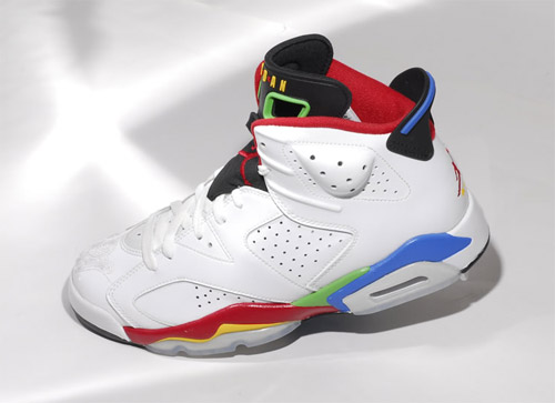 san francisco de3e0 92da3 In celebration of the Beijing 2008 Olympics Jordan Brand is releasing this  special edition Jordan VI. The colorway is obviously inspired by the Olympic  ...