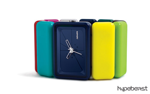 beams boy x nixon 10th anniversary rainbow vega watch