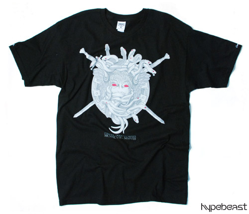 complex x crooks castles 10th anniversary t shirt