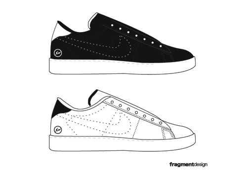 With a high rate of mortality and casualties at hand, Fragment Design has  created a special Nike ...