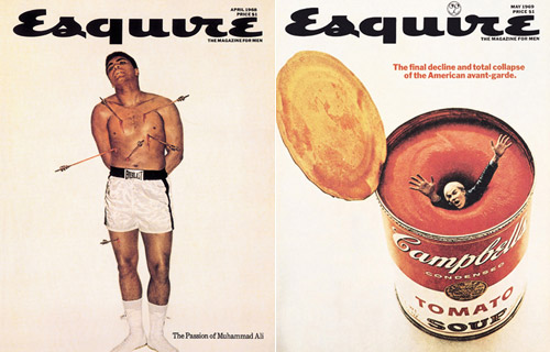 george lois esquire covers