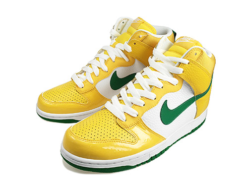 new products 72d9c 362ce Allegedly part of the latest Euro Champ Pack of sneakers from Nike inspired  by various soccer nations, this latest Nike Dunk High draws reference to  the ...