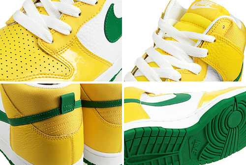 premium selection f0147 c3eef Nike Dunk High Brazil