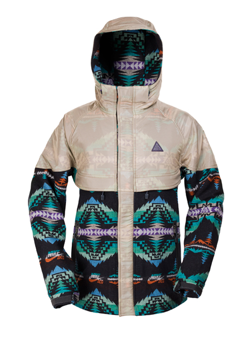 pendleton woolen mills x nike acg collection