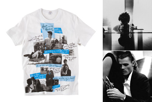 bruce weber x paul smith lets get lost t shirt