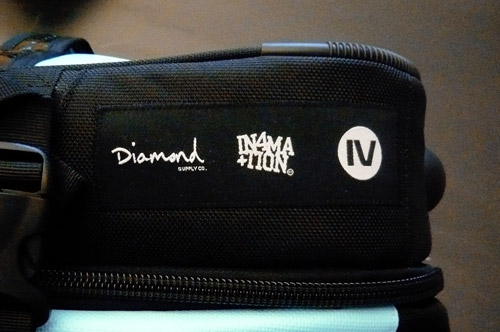 diamond supply co x in4mation x graivs travel bag preview