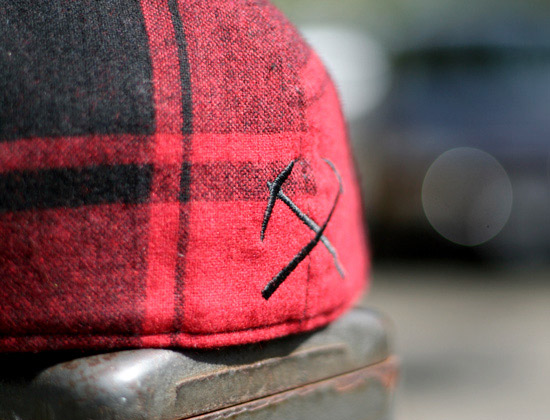 3sixteen cross cut flannel fitteds