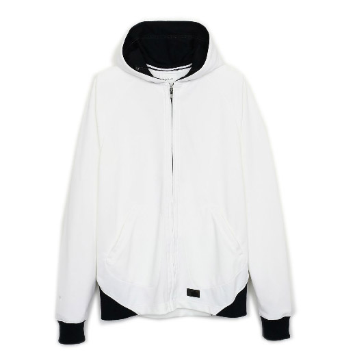 cycle cls coolmax hooded parka border long sleeve
