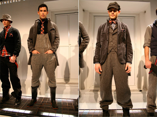 engineered garments 2008 fallwinter collection