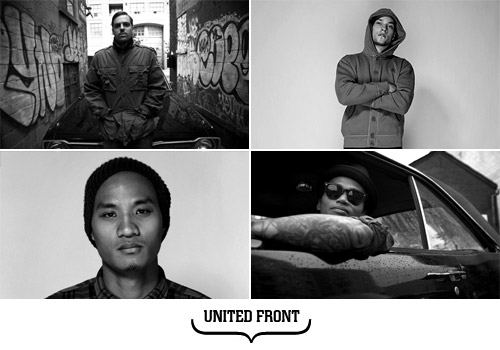 http://hypebeast.com/2008/8/hypebeast-feature-essentials-united-front