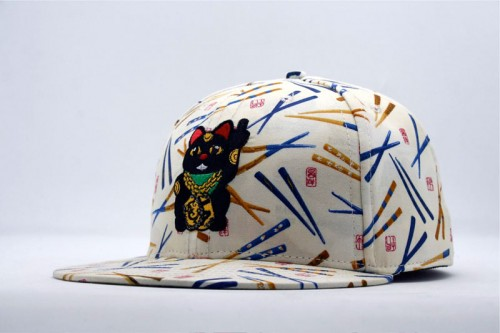 estate la maneki neko ii tearaway fitted hat