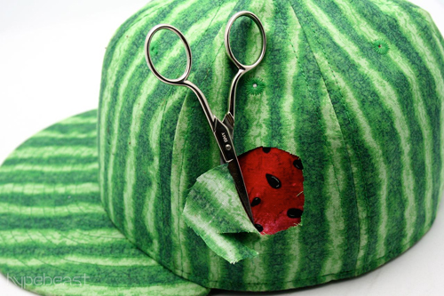 estate la watermelon tearaway 1 Estate LA Watermelon Tearaway Fitted Cap
