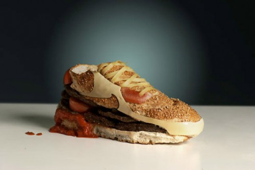 nike air max 90 burger by olle hemmendorff