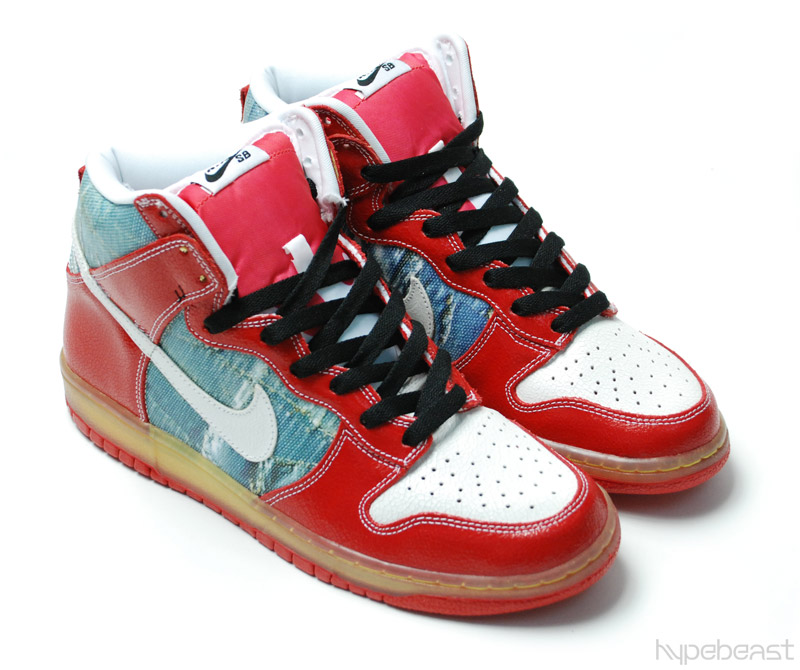 Nike Dunk High Shoe Goo