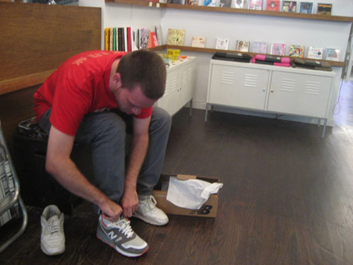 staple design x new balance 575 pigeon release recap